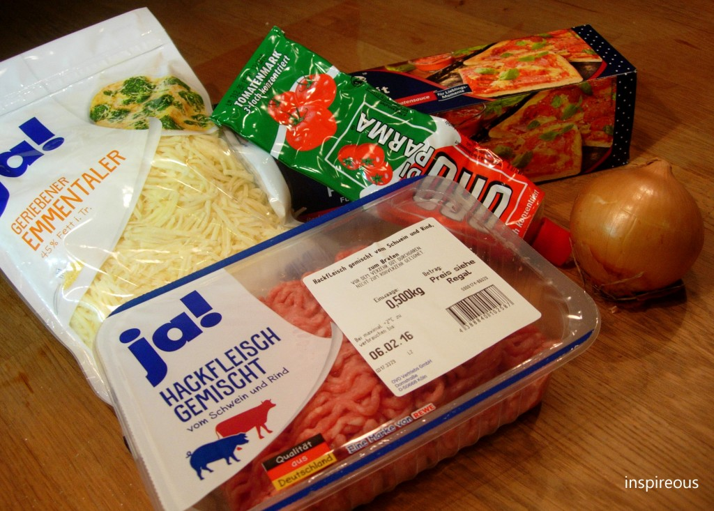 ingredients savoury pizza roll