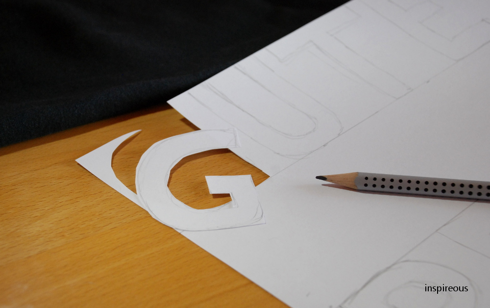 letter drawing