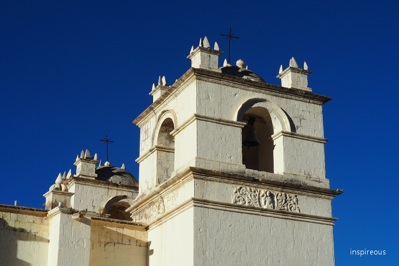colonial church in Yanque - Peru