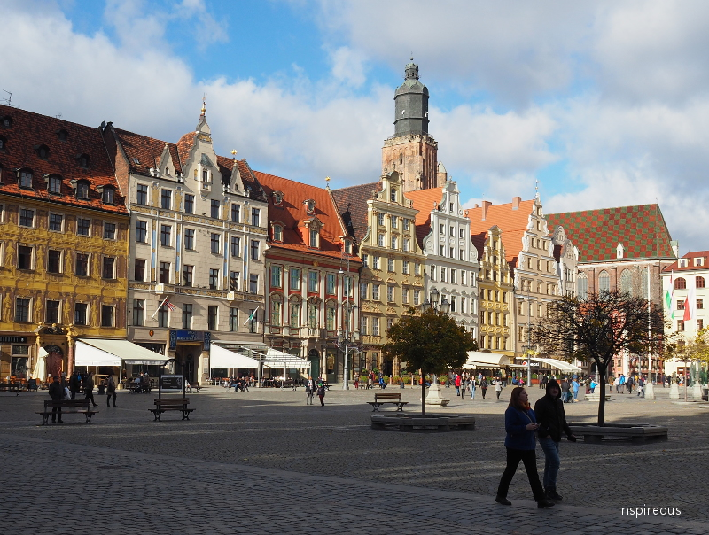 Wroclaw city center main square