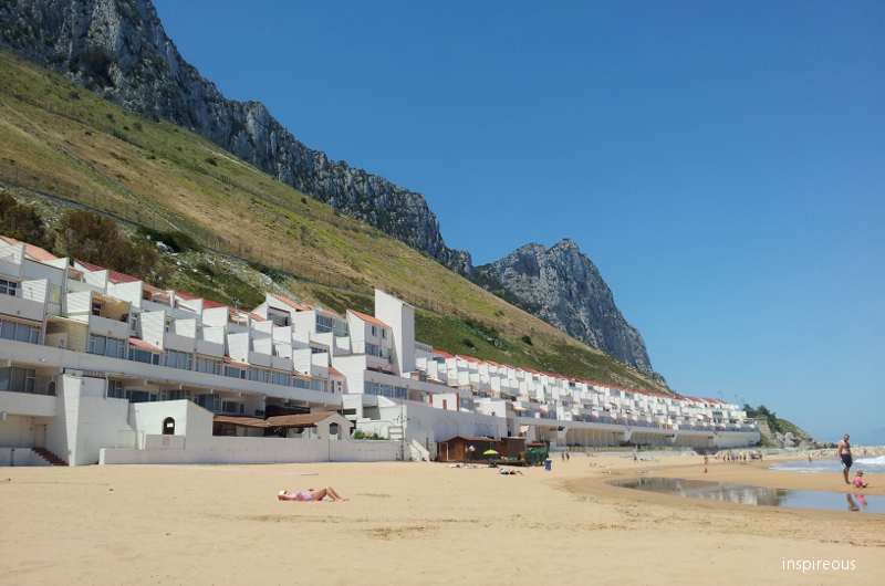 beach in Gibraltar