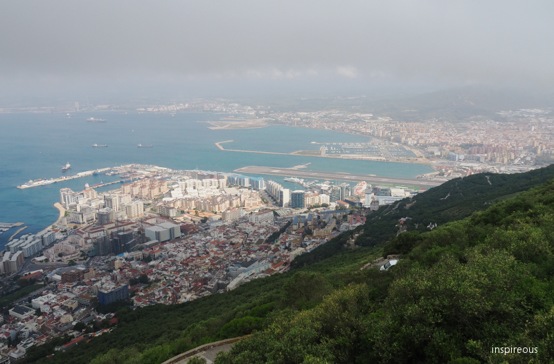 Gibraltar from above